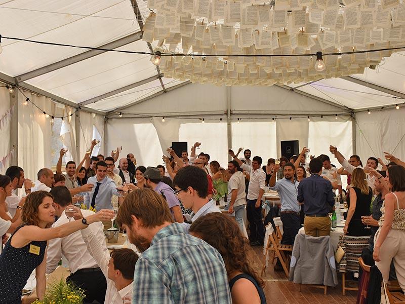 Celebracions a Mas Coromina a la Garrotxa