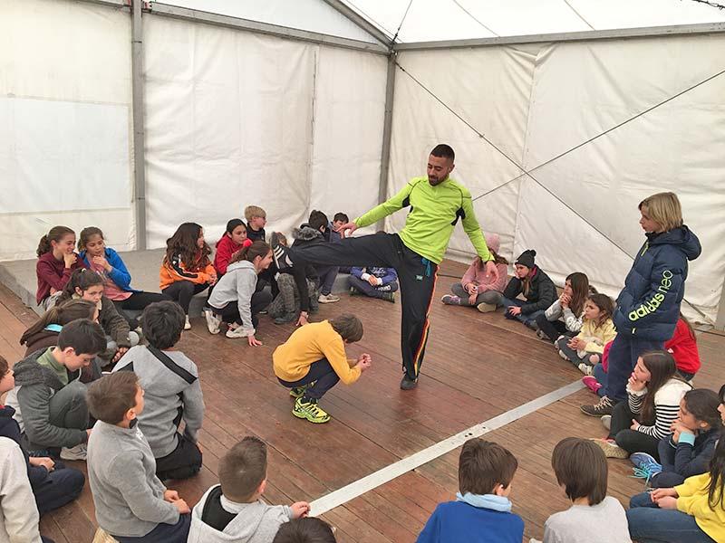 Capoeira a les colònies escolars de Mas Coromina