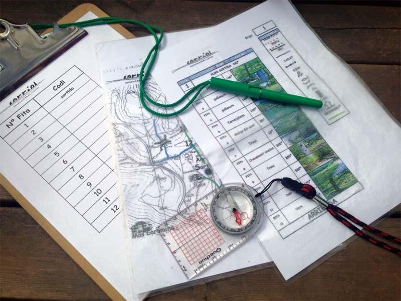 Orientació a les colònies escolars de Mas Coromina